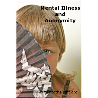 mental illness anonymity